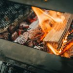 Pyro camp fire cooktop grill