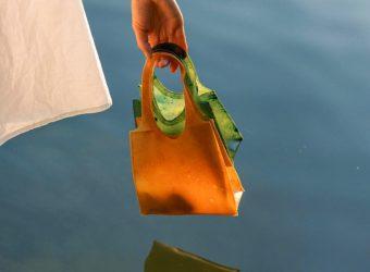 Sonnet 155 Biodegradable Bag Made Of Waste Fruit Skins
