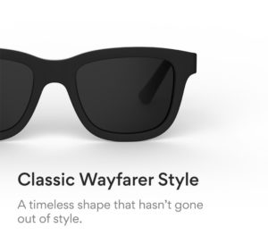 Dusk sunglasses wayfarer design